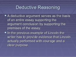inductive and deductive reasoning deductive reasoningdeductive reasoning