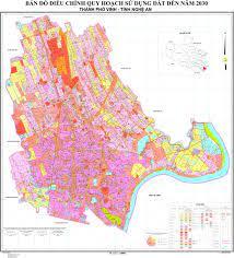 Bản đồ quy hoạch thành phố Vinh, Nghệ An giai đoạn 2021 - 2030