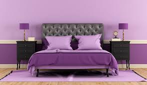 lavender wall paintLavender Painted Rooms  thesouvlakihousecom