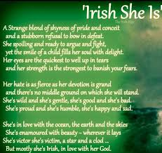 Irish Love Quotes Cool IRISH SHE ISI LOVE Thiskinda Describes My Personality Too