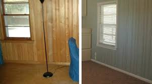 painting paneling ideas hue guest post why men fear painting wood ideas painting old wood paneling