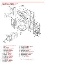 exploded view of stove here to view a parts list for this stove