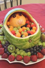 How To Decorate Fruit Tray Ideas Baby Showerruitantastic Tray Appetizers Decorations Creative 19