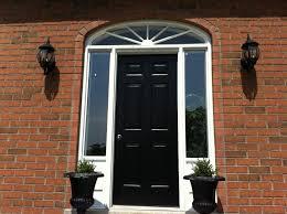 solid wood front doors uk style