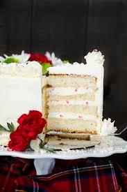 White Chocolate Peppermint Cake