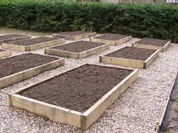how to make raised garden beds. Wood Raised Flower Beds To Be Planted Making How Make Garden