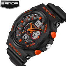 online buy whole mens athletic watches from mens sanda brand new design fashion athletic watch men electronic digital quartz watches sport men s wristwatch shockproof