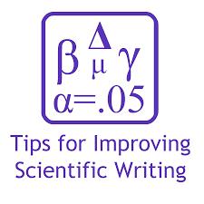 Scientific Writing Improving Scientific Writing
