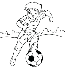 Soccer Player Coloring Pages Soccer Coloring Sheets Soccer Players