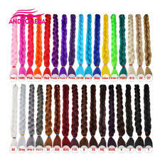 Kanekalon Braiding Hair Color Chart Kanekalon Long Hair Extensions For Sale Ebay