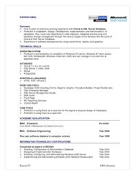 Download Oracle Dba Resume Examples Haadyaooverbayresort Com