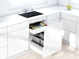 Blog Narrow Sink Cabinet Storage Waste Bins Benjamin James