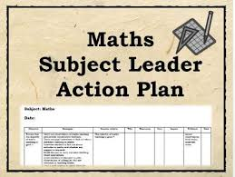 Maths Action Plan : 100 Strategies - Subject Leader, Coordinator ...