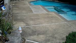 pool deck cleaning and pool deck sealing