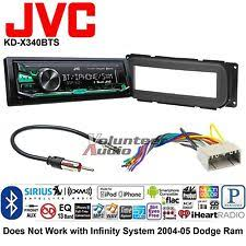 how to install a jvc car radio jvc car radio stereo media player dash install mount kit harness bluetooth no cd
