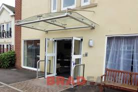 curved glass canopy stainless canopy steel canopy school canopy office canopy