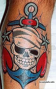 Top 9 Nejvíce Rozkošných Námořních Tetování Pro Muže A ženy