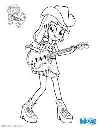 Small Picture Applejack coloring pages Hellokidscom