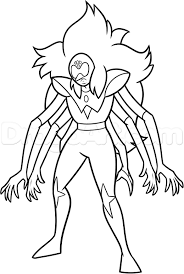 Steven Universe Coloring Pages Fusions Free Printable Lapis Lazuli