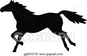 running horse clipart black and white. Brilliant White Running Horse To Clipart Black And White R