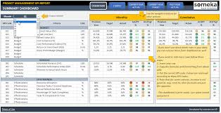 simple project management excel template project management kpi dashboard ready to use excel template