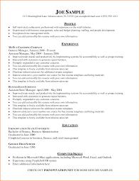 8 Free Basic Resume Examples Skills Based Resume