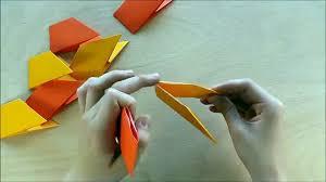 Origami Stern Weihnachtsbasteln Mit Papier