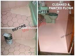 painting bathroom tile shaped bathroom floor tile so i cleaned and painted the floor painting bathroom