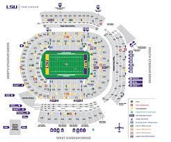 2018 tiger stadium seating chart lsu