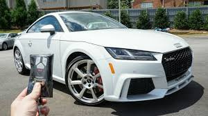 2018 audi tt rs black. modren black 2018 audi ttrs start up exhaust test drive and review with audi tt rs black r