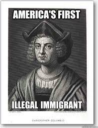 America's First Illegal Immigrant - Misc - quickmeme via Relatably.com