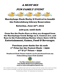 flyer caroline county crier marshyhope duck derby festival 30 2012 federalsburg