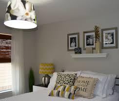 Lemon And Grey Bedroom Guest Room Design Decor Reveal Life Lemons Lemonade