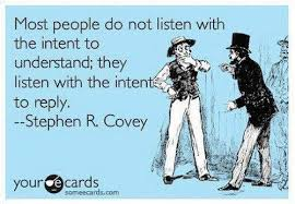 Listening Quotes Interesting Most People Do Not Listen With Intent They Listen With The Intent