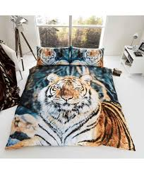 3d duvet cover set reversible tiger gaveno cavailia bedding pillowcases