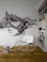 Decorating Walls With Paint Cool Decorative Painting Ideas For Walls