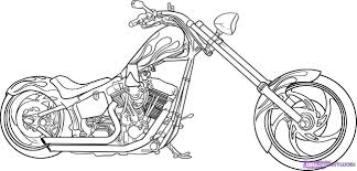 Beautiful Motorcycle Coloring Pages Motorcycle Coloring Pages ...