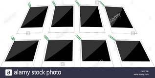 Paper Frames Templates Retro Paper Photo Frames Templates Set Stock Photo 62563351