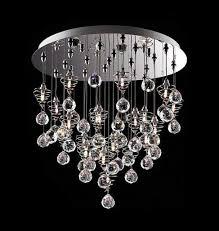 chandelier crystal chandeliers for swarovski crystal chandeliers silver circle with bubble and spiral crystal