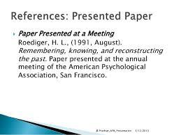 American Psychology Association Format Thesis Writing Using Apa Format