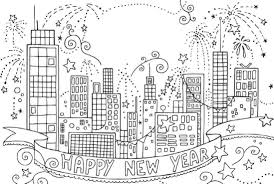 Small Picture Firework coloring pages to download and print for free