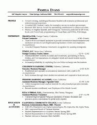 Example Of Great Resume