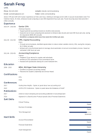 resume format for experienced accountant accounting resume examples from objective to skills in 7 tips