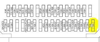 toyota fuse panel diagram image details 2010 toyota rav4 fuse panel