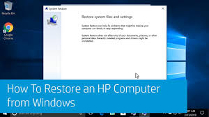 HP PCs - Using Microsoft System Restore (Windows 10, 8) | HP ...