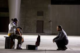 the soloist life assays  the adolescent nathaniel practicing the cello devotedly nathaniel as a young man arriving at julliard and nathaniel a few years later being hounded by