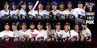 Mets Depth Chart 2019 2019 Mlb All Star Game Starting Lineups Mlb Com