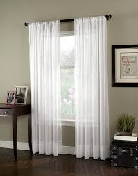 white curtain panels. Cabinet Graceful Long White Curtains 25 Soho Voile Sheer Window Curtain Panel 788x1000 Panels S