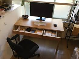 muji office chair. Description. Solid Oak Desk Muji Office Chair