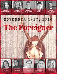 Meet the cast and learn more about the stars of the foreigner with exclusive news, pictures cast and crew credits for foreigner, the, 2017, directed by martin campbell, with ryan early, roberta. The Foreigner Fuhs Theatre